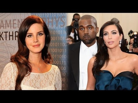 Lana Del Rey Serenading Kim Kardashian & Kanye West at Wedding!