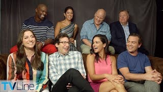 'Brooklyn Nine Nine' Cast on Being Saved by NBC | Comic-Con 2018 | TVLine