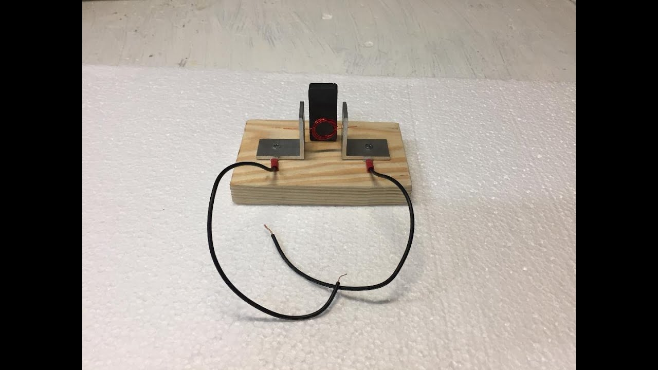 Simple Electric Motor Kit Science Project For Child Youtube