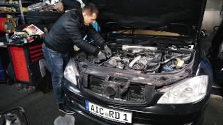 Mercedes Benz S320 W221 замена масла / Бортовой журнал Денис Рем Дестакар
