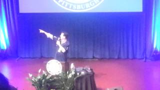 Stephen Colbert at University of Pittsburgh