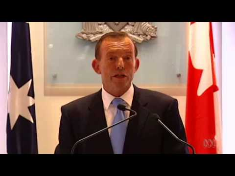 Tony Abbott announces growth of spending in foreign aid, health & education to be restrained