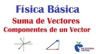 Componentes de un Vector - Suma de Vectores