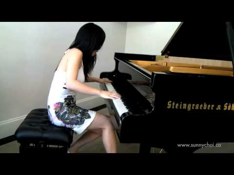 how to play love the way you lie on piano