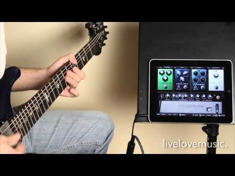 iRig Guitar Interface for iPad/ iPhone + Amplitube iPad Review & Demo