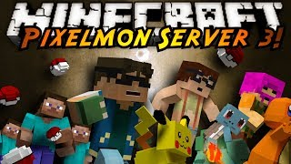 Minecraft Pixelmon Server : OUR FIRST GYM BATTLE!