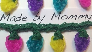 How To Connect Rainbow Loom Charms Onto A Garland Or
