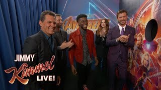 Infinity War Cast Surprises Avengers Fans