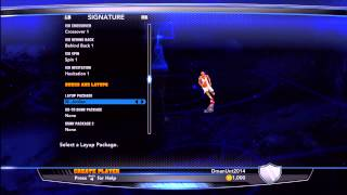 NBA 2K14: Every Layup Package New Layup Packages.