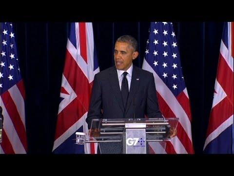 Obama warns Russia over Ukraine