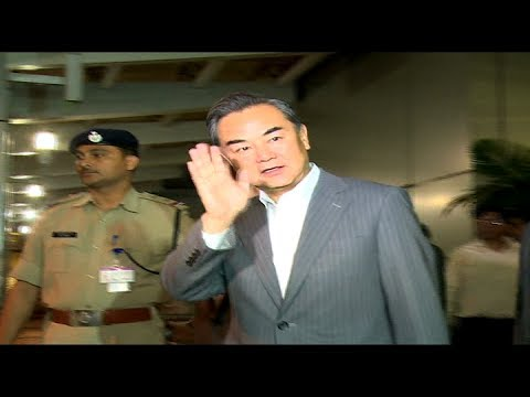 Chinese FM in India, holds talks with PM Modi