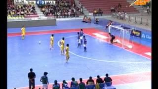 Thailand Vs Malaysia 12-1 [ Semi Final ] AFF Futsal