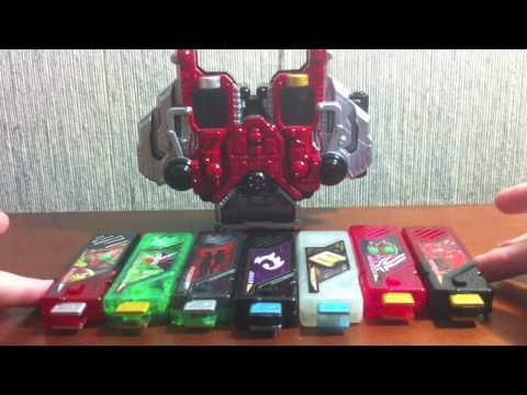 Review: Sound Capsule GaiaMemory 5 (Kamen Rider W)