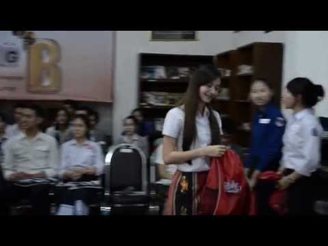 English Language Spelling Bee in Vientiane Laos!