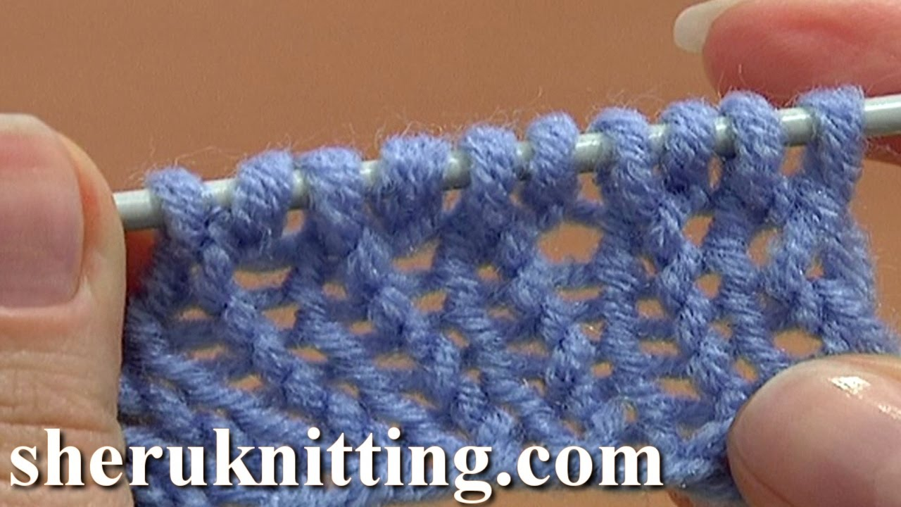 Knit Stitch Below Increase : How to Knit Cast On Increase Tutorial 8 Method 6 of 14 Increases in Knitting ...