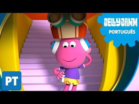 Jelly Jamm Português EP 09 Onde Está A Música?. Desenhos animados em português completos