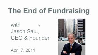 The End of Fundraising: Market Your Results, Sell Your Impact