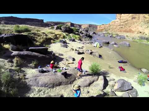 GoPro / Jackson Kayak Family adventure on the Ruby Horsethief section of Colorado