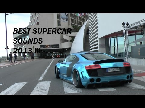Best Supercar Sounds of 2013!!