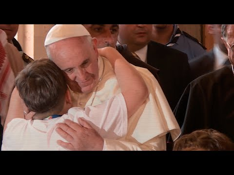 Jordan: Pope Meets With Syrian Refugees