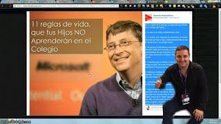 Las 11 Reglas De Vida Para Un Estudiante Por Bill Gates