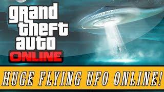 GTA 5: ONLINE How To Get A Flying Alien UFO Spaceship