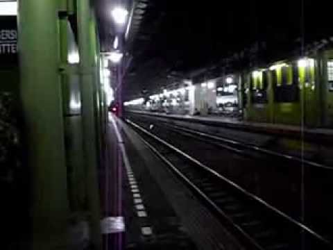 Gajayana Train (Kereta Api Gajayana) Leaving Gambir Station [Final Cut]