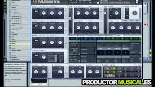 Native Instruments Massive, Tutorial En Español