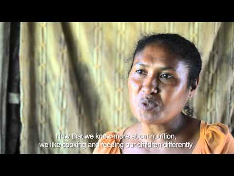 Nutrition: a community-based health approach in Timor-Leste