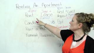 Renting an Apartment, English Vocabulary Video Lesson, engvid