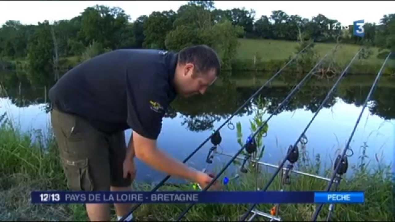 Mathieu et Franck - Pêche à la Carpe - France 3