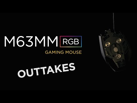 Bild: Corsair M63MM RGB Gaming Mouse Intro: The Outtakes!
