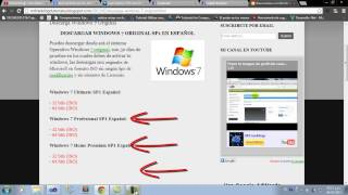 Descargar Windows 7 Ultimate Original En Español [32/64 Bits]