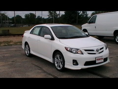 2013 toyota corolla s sunroof alloys hands free www nhcarman com. Black Bedroom Furniture Sets. Home Design Ideas