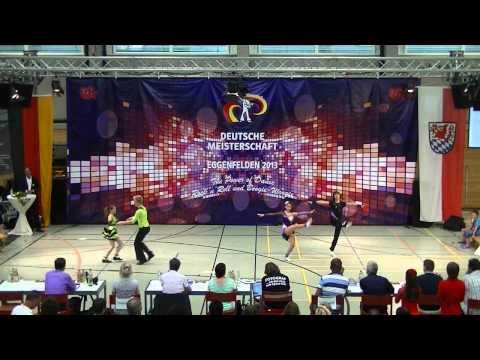 Fritz - Lange & Cornejo - Kaya - Deutsche Meisterschaft 2013