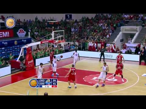 1/4 playoffs. Lokomotiv-Kuban - CSKA Game 3 Highlights