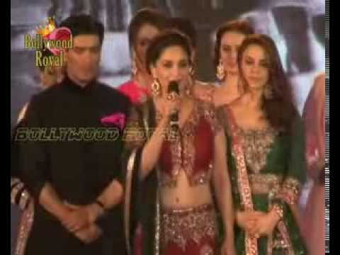 Fashion show by Manish Malhotra showstoppers of Madhuri Dixit, Preity Zinta & Malaika Arora  7