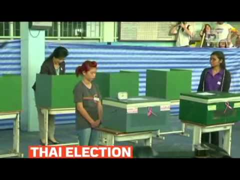mitv - Thailand election disrupted by protests