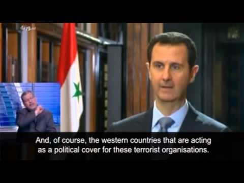 Assad: Geneva talks must 'fight terrorism' in Syria -- video