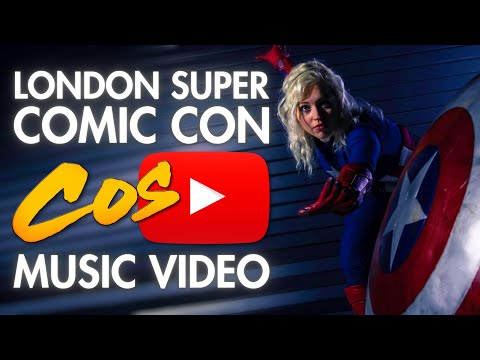 Cosplay : London Super Comic Con (LSCC) - Cosplay Music Video,