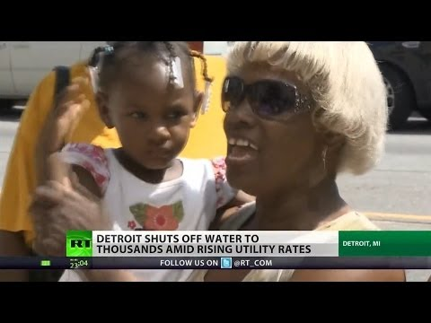 Detroit's humanitarian crisis: thousands left without water