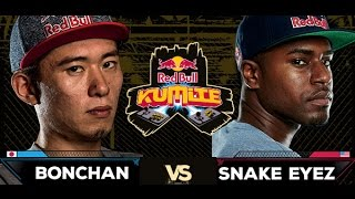 Red Bull Kumite 2016 : Snake Eyez vs. Bonchan - Top 16
