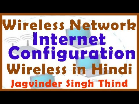 Wireless LAN part 6 Wireless Router Providing Internet Access to Clients in Hindi