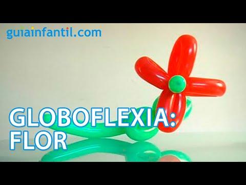 globoflexia aprende a hacer una flor youtube. Black Bedroom Furniture Sets. Home Design Ideas