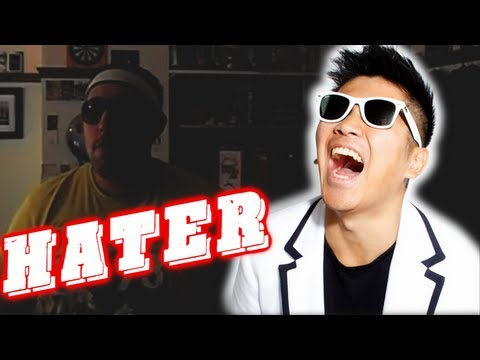 "Fat Guy with Moobs HATES Peter Chao, When a surly fat man decides to call Peter Chao out in a homemade video, he is welcomed to the ""Hater of the Week"", as Chao tears him a new a**hole. NEW VIDE..."