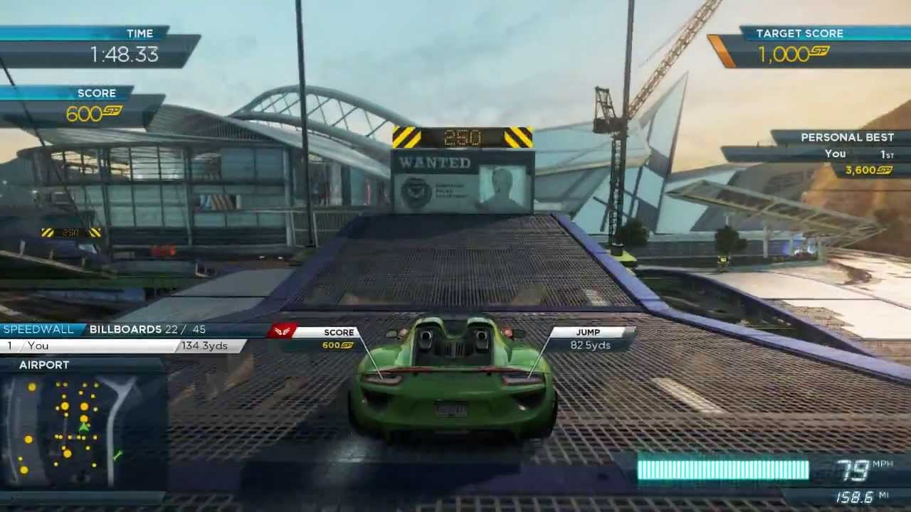 nfs most wanted 2012 all 2013 porsche 918 spyder events