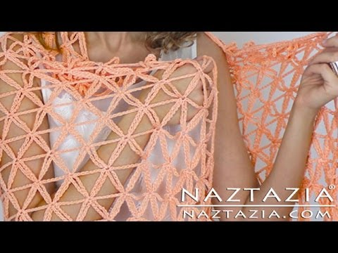 Crochet Flower Of Life Pattern : DIY Learn How to Crochet Flower of Life Chain Shawl - YouTube