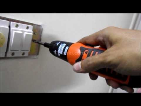 Black & Decker - Cordless Screw Driver - Unboxing and Review - A7073