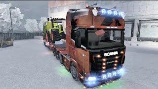 ETS2 Winter Edition +Download (Euro Truck Simulator 2