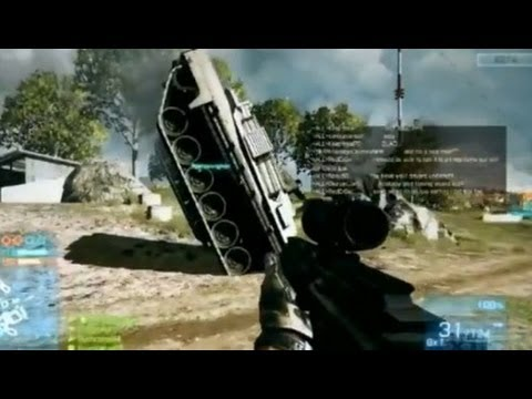 Battlefield 3: Vehicle Glitch in Beta